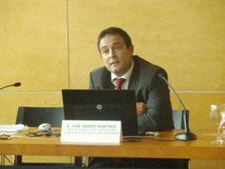 José Andrés Martínez, Jefe de Servicio de Edificación y Obra Civil de Certificación-AENOR
