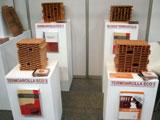 Exposición de piezas de Bloque Termoarcilla en CONSTRUTEC 2010